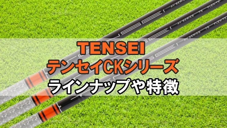 三菱テンセイCKシャフト